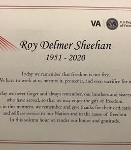 Roy Sheehan